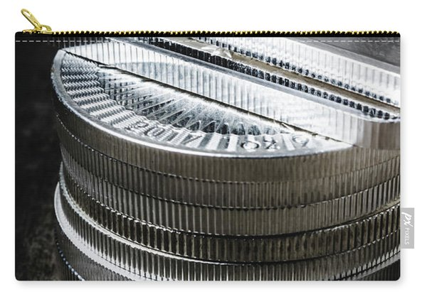 Coins Of Silver Stacking Carry-all Pouch