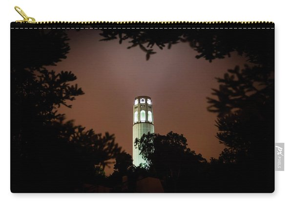 Coit Tower Through The Trees Carry-all Pouch