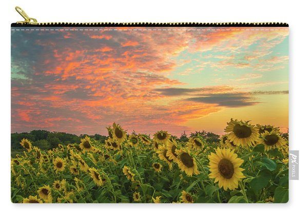 Colby Farm Sunflowers Carry-all Pouch