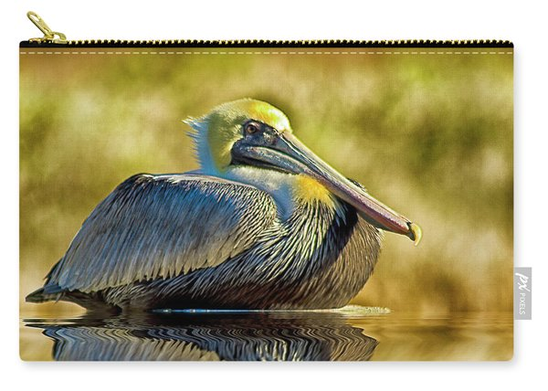 Cold Brown Pelican Carry-all Pouch