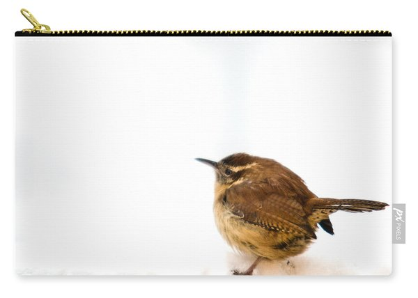 Cold Carolina Wren Carry-all Pouch