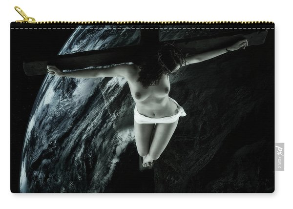 Cold Tellus Crucifix Carry-all Pouch