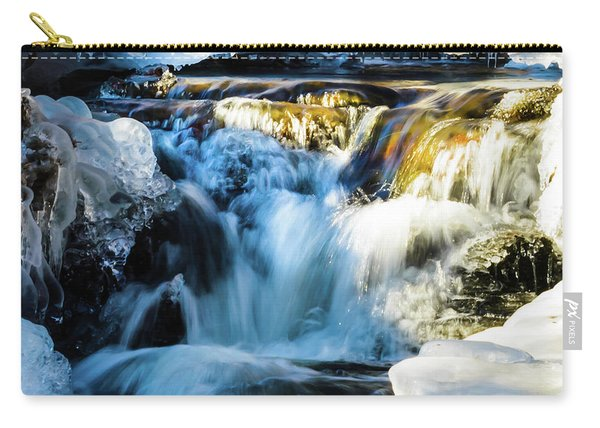 Cold Water Fall Carry-all Pouch