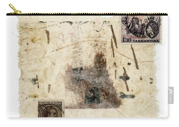 Collage In Shades Of Brown Carry-all Pouch