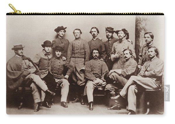 Colonel John Mosby - Mosby's Rangers Photo - Civil War Carry-all Pouch