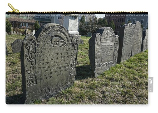 Colonial Graves At Phipps Street Carry-all Pouch