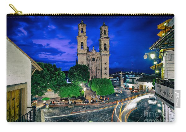 Colonial Town Of Taxco, Mexico Carry-all Pouch