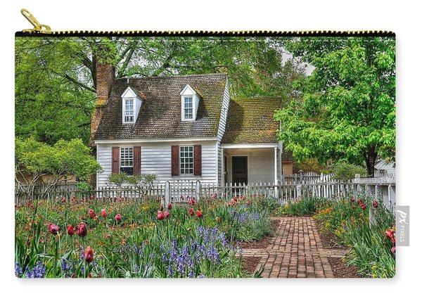 Colonial Williamsburg Flower Garden Carry-all Pouch