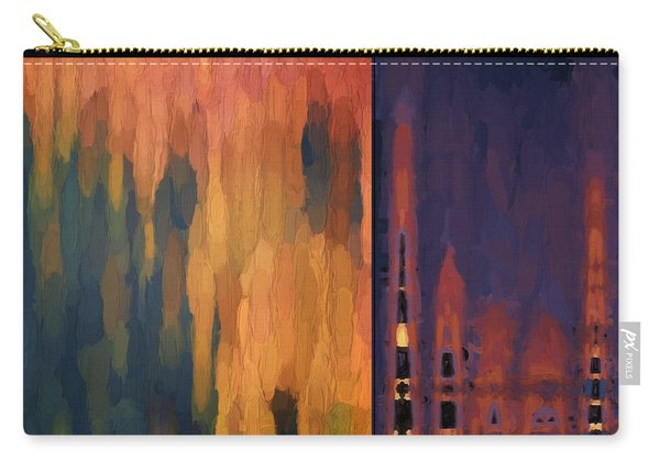 Color Abstraction Liv Carry-all Pouch