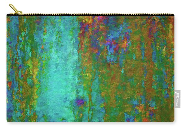 Color Abstraction Lxvii Carry-all Pouch
