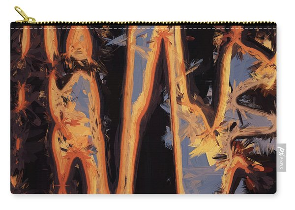 Color Abstraction Xli Carry-all Pouch