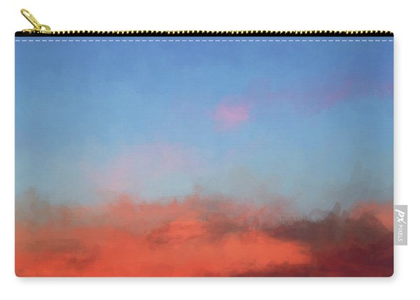 Color Abstraction Xlvii - Sunset Carry-all Pouch