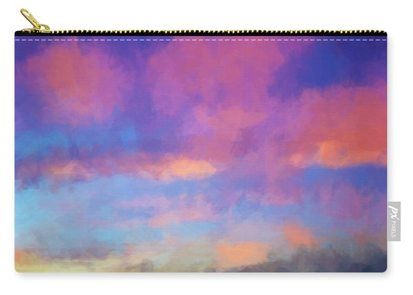 Color Abstraction Xlviii - Sunset Carry-all Pouch