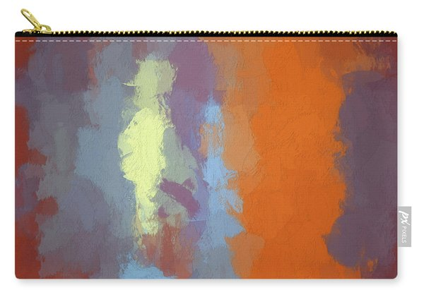 Color Abstraction Xxiii Sq Carry-all Pouch