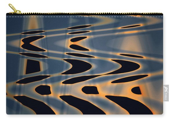 Color Abstraction Xxiv  Carry-all Pouch