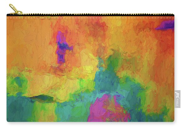 Color Abstraction Xxxiv Carry-all Pouch