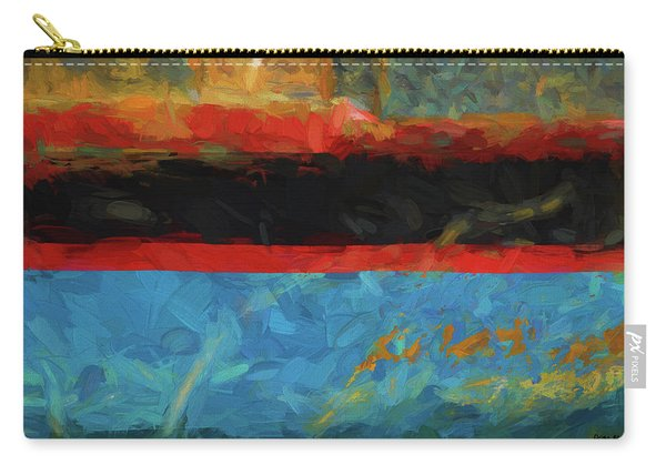 Color Abstraction Xxxix Carry-all Pouch
