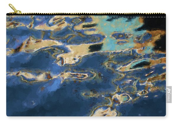 Color Abstraction Xxxvii - Painterly Carry-all Pouch