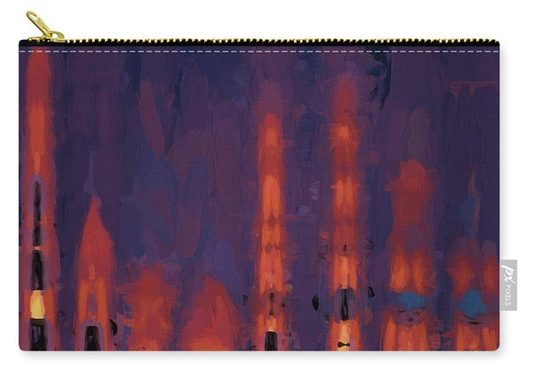Color Abstraction Xxxviii Carry-all Pouch