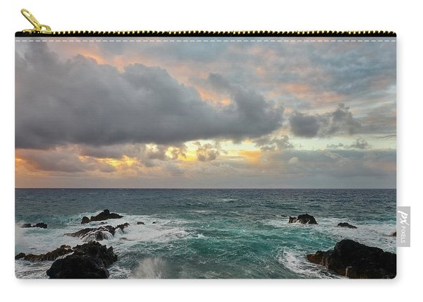Color In Maui Carry-all Pouch