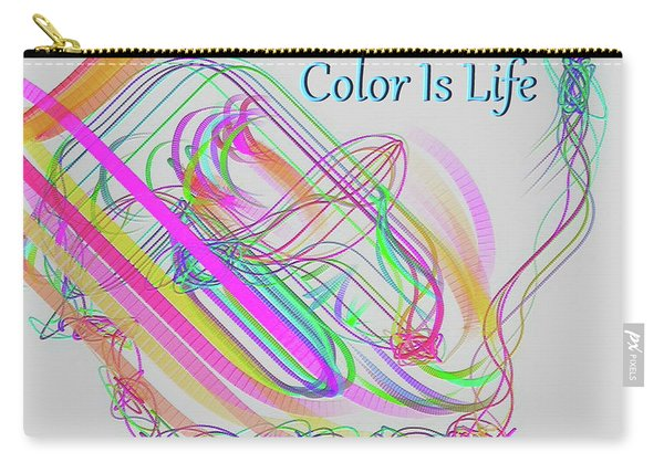 Color Is Life Carry-all Pouch