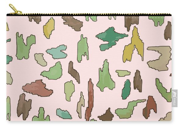 Color Pattern 3 Carry-all Pouch