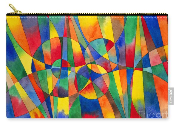 Color Shards Watercolor Carry-all Pouch