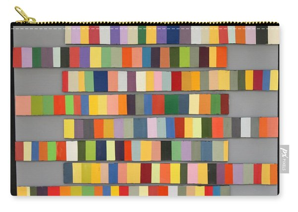 Color Strips Carry-all Pouch