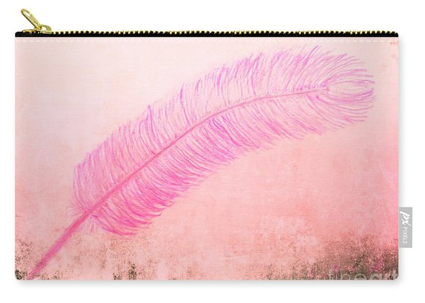 Color Trend Feather In The Wind Carry-all Pouch