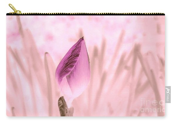 Color Trend Flower Bud Carry-all Pouch