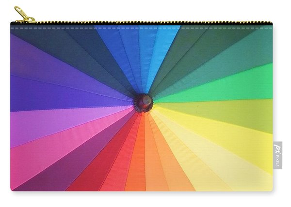 Color Wheel Carry-all Pouch