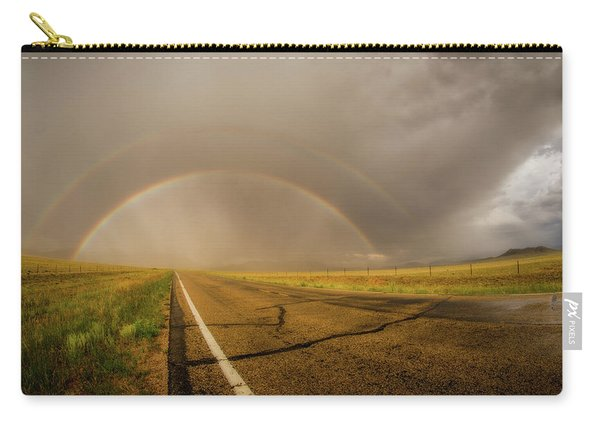 Colorado Double Rainbow Carry-all Pouch