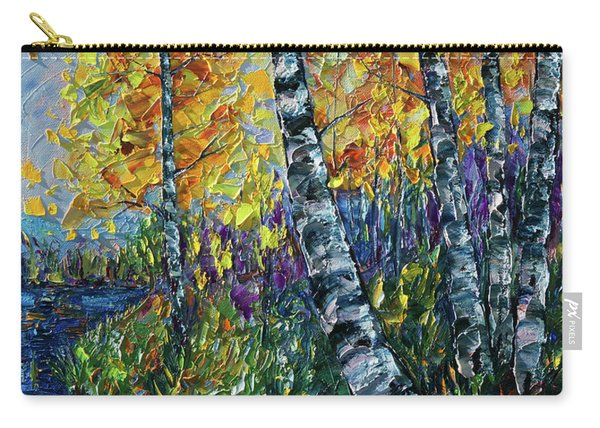 Glimpses Of Colorado Fall Colors Carry-all Pouch