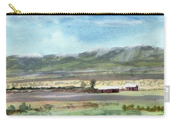Colorado Ranch In North Park Carry-all Pouch