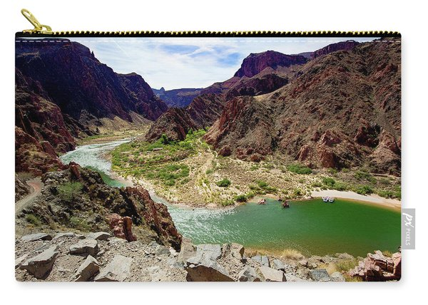 Colorado River Around Boat Beach Carry-all Pouch