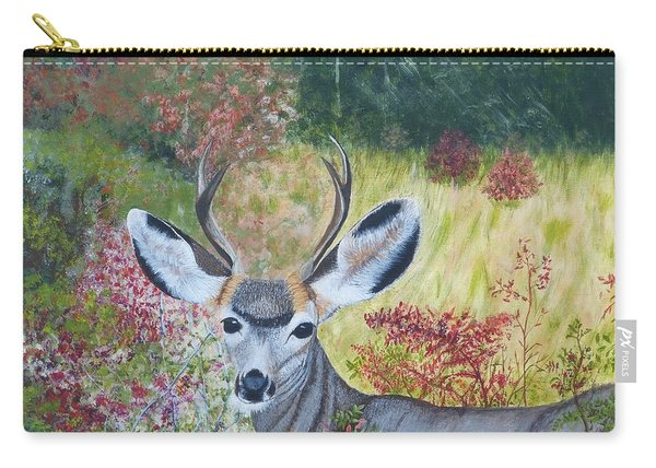 Colorado White Tail Deer Carry-all Pouch