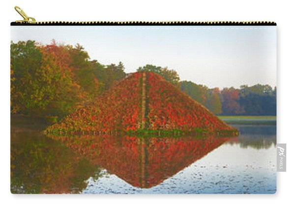 Colored Lake Pyramid Carry-all Pouch