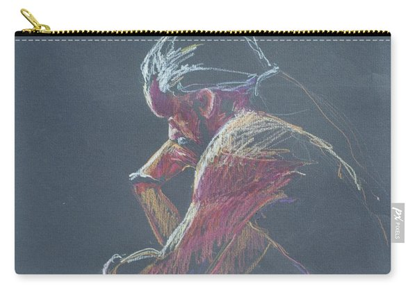 Colored Pencil Sketch Carry-all Pouch