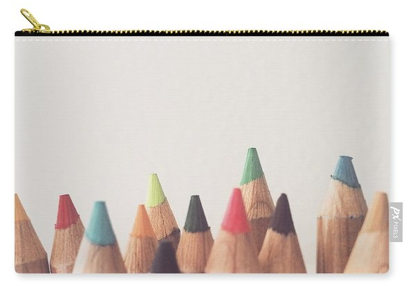 Colored Pencils Carry-all Pouch