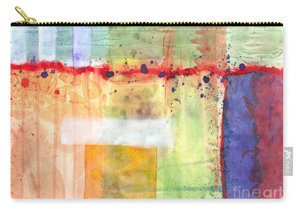 Colorfields Watercolor Carry-all Pouch