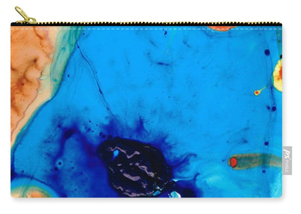 Colorful Abstract Art - The Reef - Sharon Cummings Carry-all Pouch