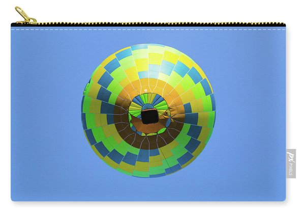 Colorful Abstract Hot Air Balloon Carry-all Pouch