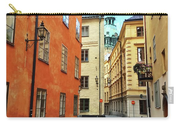 Colorful Buildings In The Old Center Of Stockholm Carry-all Pouch