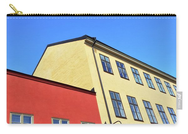 Colorful Buildings Of Stockholm Carry-all Pouch