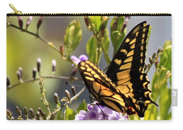 Colorful Butterfly Carry-all Pouch