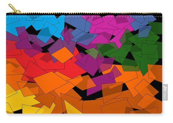 Colorful Chaos Too Carry-all Pouch