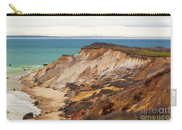 Colorful Clay Cliffs On The Vineyard Carry-all Pouch