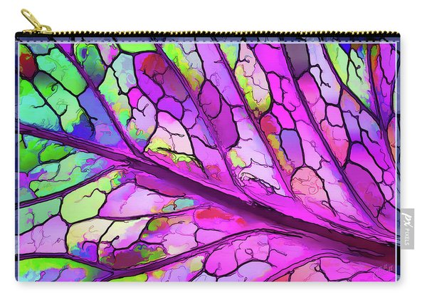 Colorful Coleus Abstract 3 Carry-all Pouch