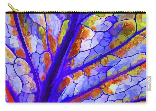 Colorful Coleus Abstract 6 Carry-all Pouch