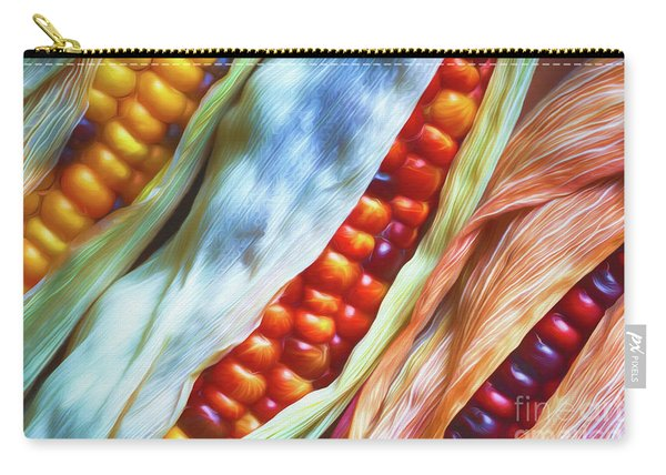 Colorful Corn 3 Carry-all Pouch